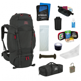 Essentials-pakke til backpacking