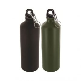 Drikkeflaske - 1 liter - Aluminium