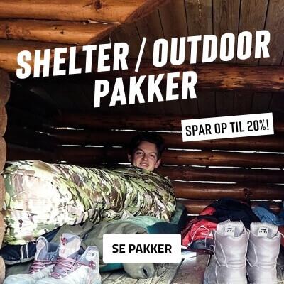 Outdoor - shelter - pakke