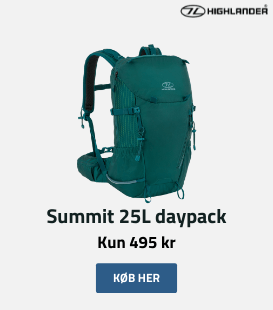 Summit 25 liters daypack fra HIghlander