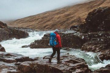 daypack på vandretur