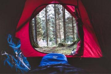 soveposer outdoor i telt