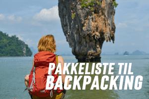 Pakkeliste til backpacking