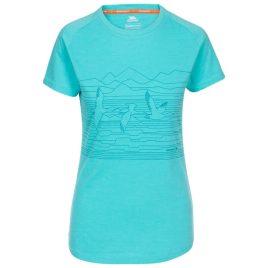 T-shirt til kvinder - Trespass Dunebug - Lyseblå