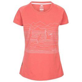 T-shirt til kvinder - Trespass Dunebug - Rhubarb