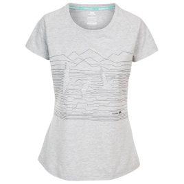 T-shirt til kvinder - Trespass Dunebug - Grå
